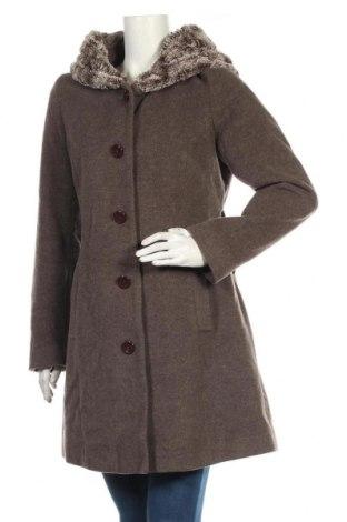 Dámský kabát , Velikost M, Barva Hnědá, Cena  740,00Kč