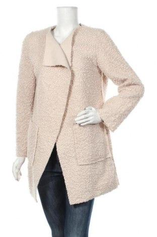 Дамско палто, Размер M, Цвят Екрю, Полиестер, Цена 56,70лв.