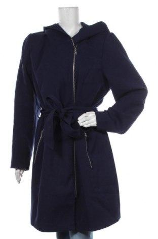 Palton de femei Anna Field, Mărime XXL, Culoare Albastru, 76% poliester, 20% viscoză, 4% elastan, Preț 219,57 Lei