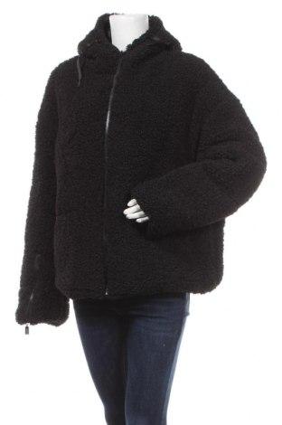 Palton de femei Boohoo, Mărime L, Culoare Negru, Poliester, Preț 219,57 Lei