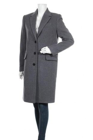 Γυναικείο παλτό Calvin Klein, Μέγεθος M, Χρώμα Γκρί, 80% μαλλί, 20% πολυαμίδη, Τιμή 189,05€