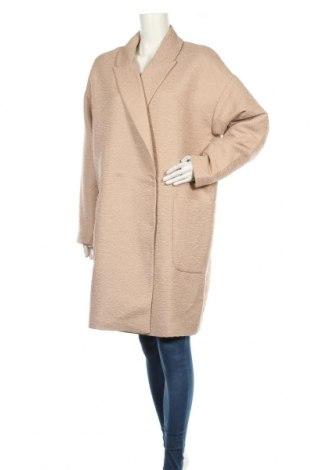 Дамско палто Carin Wester, Размер L, Цвят Бежов, 91% полиестер, 9% памук, Цена 85,14лв.