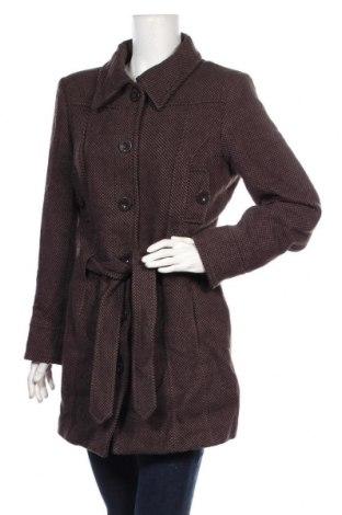 Дамско палто Casa Blanca, Размер L, Цвят Кафяв, 60% вълна, 40% вискоза, Цена 46,46лв.