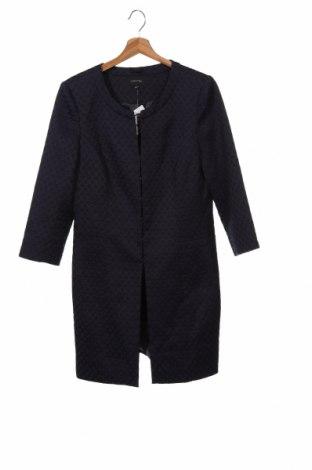 Palton de femei Comma,, Mărime XS, Culoare Albastru, 58% bumbac, 40% poliester, 2% elastan, Preț 762,34 Lei