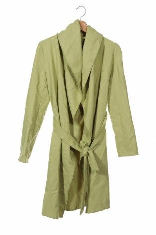 Дамско палто Comma,, Размер XS, Цвят Зелен, 65% полиестер, 32% вискоза, 3% еластан, Цена 155,72лв.