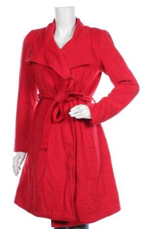 Дамско палто Fashion hero by S.Oliver, Размер S, Цвят Червен, 65% вълна, 35% полиамид, Цена 188,30лв.