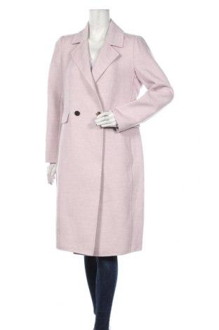 Дамско палто Forever New, Размер L, Цвят Лилав, 94% полиестер, 5% вискоза, 1% еластан, Цена 96,75лв.