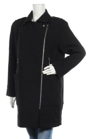 Dámský kabát  H&M, Velikost M, Barva Černá, 75% polyester, 22% viskóza, 3% elastan, Cena  673,00Kč