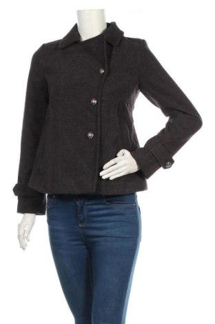 Дамско палто Hot Options, Размер S, Цвят Сив, Полиестер, вискоза, еластан, Цена 44,10лв.