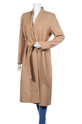 Дамско палто Ivy & Oak, Размер XL, Цвят Бежов, 75% вълна, 25% полиамид, Цена 293,40лв.