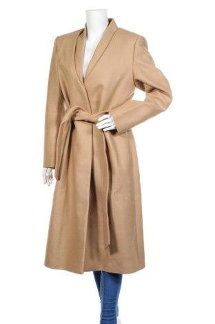 Дамско палто Ivy & Oak, Размер XL, Цвят Бежов, 75% вълна, 25% полиамид, Цена 259,17лв.