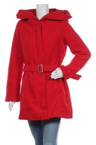 Дамско палто Jennifer Taylor, Размер L, Цвят Червен, 70% полиестер, 30% вискоза, Цена 75,60лв.
