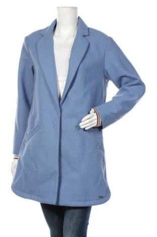 Дамско палто Maison Scotch, Размер M, Цвят Син, 80% полиестер, 20% вълна, Цена 351,75лв.