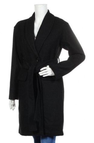 Дамско палто Mint & Berry, Размер S, Цвят Черен, 50% вълна, 50% полиестер, Цена 126,75лв.
