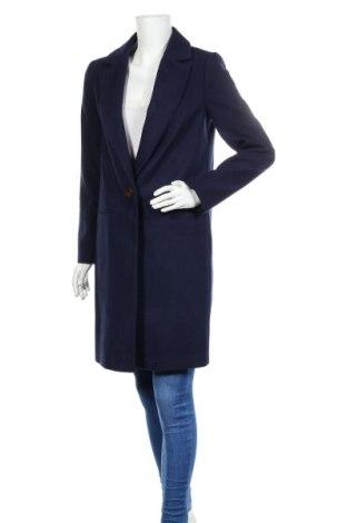 Palton de femei Miss Selfridge, Mărime S, Culoare Albastru, 95% poliester, 3% viscoză, 2% elastan, Preț 342,93 Lei