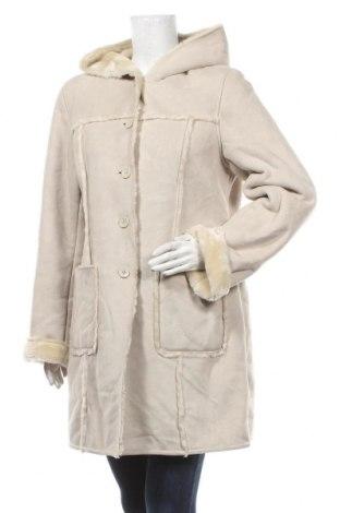 Дамско палто My Own, Размер L, Цвят Бежов, Полиестер, Цена 57,75лв.