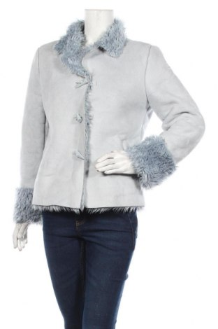 Дамско палто My Own, Размер M, Цвят Син, Полиестер, Цена 51,45лв.