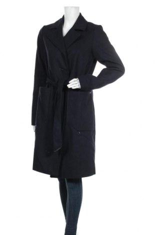 Palton de femei Noisy May, Mărime M, Culoare Albastru, 80% poliester, 10%acril, 5% lână, 3% viscoză, 2% poliamidă, Preț 228,16 Lei