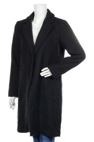 Palton de femei ONLY, Mărime M, Culoare Albastru, 80% poliester, 20% lână, Preț 293,59 Lei