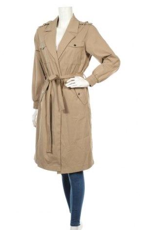 Дамско палто ONLY, Размер S, Цвят Зелен, Полиестер, Цена 76,30лв.