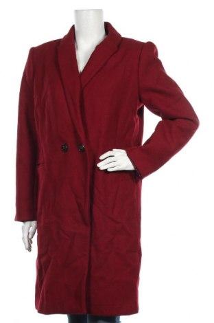Dámský kabát  Promod, Velikost L, Barva Červená, Cena  759,00Kč
