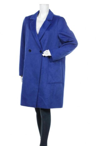 Palton de femei S.Oliver, Mărime XL, Culoare Albastru, 95% poliester, 5% lână, Preț 416,94 Lei