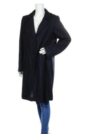 Дамско палто S.Oliver, Размер XL, Цвят Син, 62% полиакрил, 34% полиестер, 4% вълна, Цена 138,00лв.