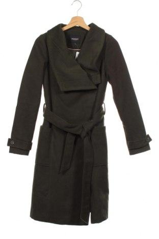 Дамско палто Soaked In Luxury, Размер XS, Цвят Зелен, 90% полиестер, 10% вискоза, Цена 119,40лв.