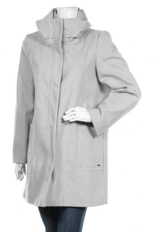 Palton de femei Tom Tailor, Mărime XL, Culoare Gri, 61% poliester, 17% viscoză, 11% lână, 4% poliamidă, 4% poliacrilic, 3% bumbac, Preț 230,36 Lei