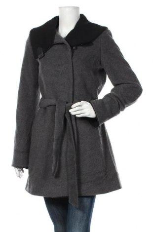 Дамско палто Un Jour Ailleurs, Размер S, Цвят Сив, 75% вълна, 20% полиамид, 5% кашмир, Цена 64,05лв.