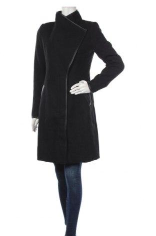 Dámský kabát  Vero Moda, Velikost S, Barva Černá, 51% polyester, 31% vlna, 10%acryl, 4% polyamide, 2% bavlna, 2% viskóza, Cena  1403,00Kč