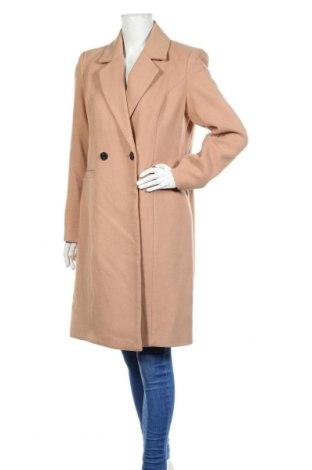 Дамско палто Vero Moda, Размер L, Цвят Розов, 89% полиестер, 10% вискоза, 1% еластан, Цена 74,25лв.