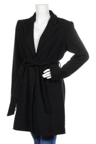 Дамско палто Vero Moda, Размер L, Цвят Черен, 51% полиестер, 31% вълна, 10% акрил, 4% полиамид, 2% памук, 2% вискоза, Цена 81,75лв.
