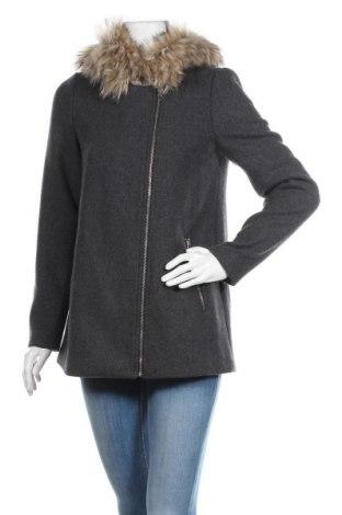 Дамско палто Vero Moda, Размер S, Цвят Сив, 70% полиестер, 30% вълна, Цена 118,30лв.