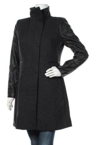 Дамско палто Wayne Cooper, Размер M, Цвят Сив, 71% полиестер, 22% вълна, 5% вискоза, 2% акрил, Цена 134,40лв.