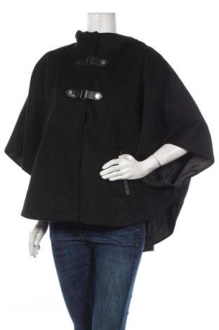 Palton de femei Yessica, Mărime M, Culoare Negru, 53% poliester, 38% lână, 5%acril, 4% poliamidă, Preț 162,47 Lei