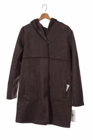 Palton de femei Zara, Mărime XS, Culoare Gri, 92% poliester, 8% elastan, Preț 441,62 Lei