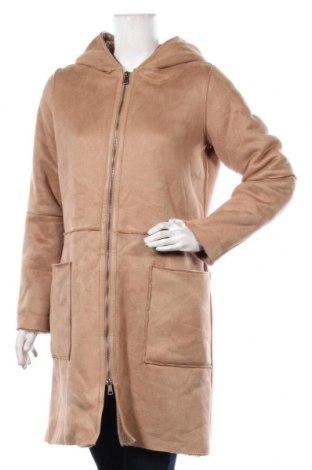 Dámský kabát  Zero, Velikost S, Barva Béžová, Polyester, Cena  748,00Kč