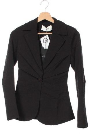 Дамско сако 4th & Reckless, Размер XS, Цвят Черен, Полиестер, Цена 59,25лв.