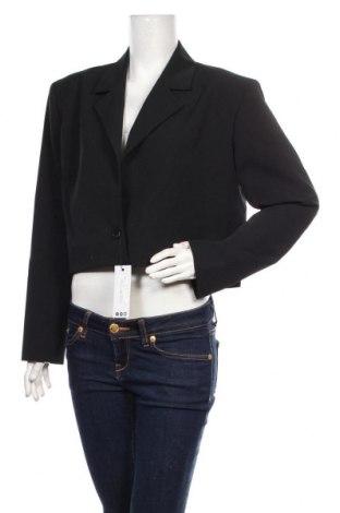 Дамско сако Boohoo, Размер XL, Цвят Черен, 88% полиестер, 12% еластан, Цена 38,35лв.