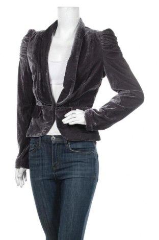 Дамско сако Hot Options, Размер M, Цвят Сив, Полиестер, еластан, Цена 33,60лв.