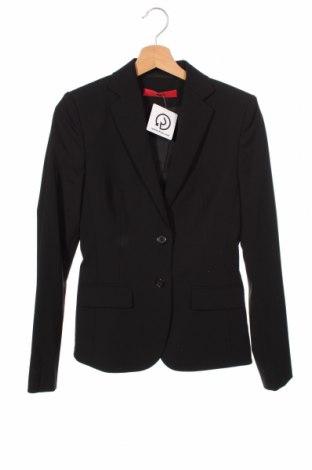 Dámské sako  Hugo Boss, Velikost XS, Barva Černá, 98% vlna, 2% elastan, Cena  1148,00Kč