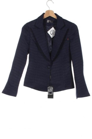 Дамско сако Lexi, Размер S, Цвят Син, Полиестер, Цена 149,25лв.