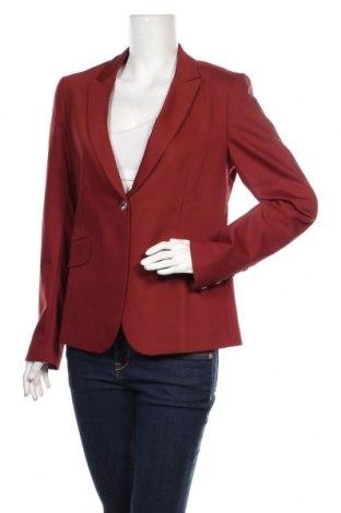 Дамско сако MOS MOSH, Размер L, Цвят Червен, 53% памук, 44% полиамид, 3% еластан, Цена 216,75лв.
