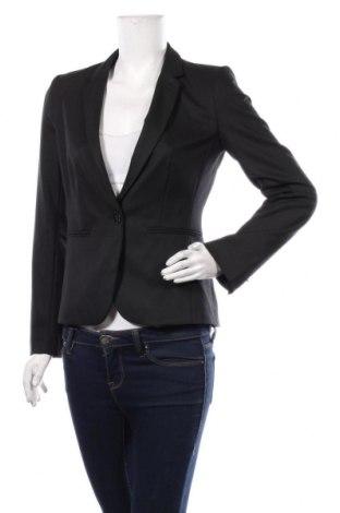 Дамско сако Max&Co., Размер M, Цвят Черен, 64% полиестер, 32% вискоза, 4% еластан, Цена 230,45лв.