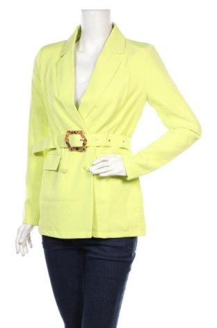 Дамско сако Missguided, Размер S, Цвят Зелен, 90% полиестер, 10% еластан, Цена 51,75лв.
