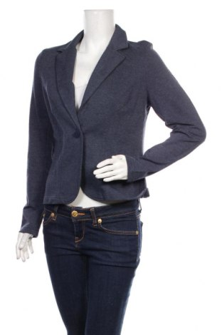 Дамско сако Q/S by S.Oliver, Размер L, Цвят Син, 60% памук, 40% полиестер, Цена 45,36лв.