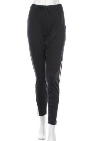 Pantaloni trening de femei Adidas, Mărime L, Culoare Negru, 70% bumbac, 30% poliester, Preț 244,25 Lei