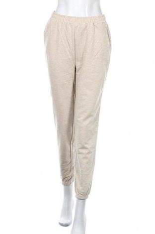 Dámské tepláky Even&Odd, Velikost M, Barva Béžová, 60% bavlna, 40% polyester, Cena  424,00Kč