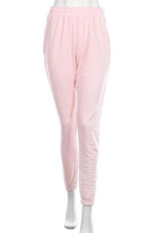 Dámské tepláky Missguided, Velikost M, Barva Růžová, 60% bavlna, 40% polyester, Cena  392,00Kč